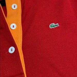 Lacoste Tops - Lacoste Quarter sleeve Polo